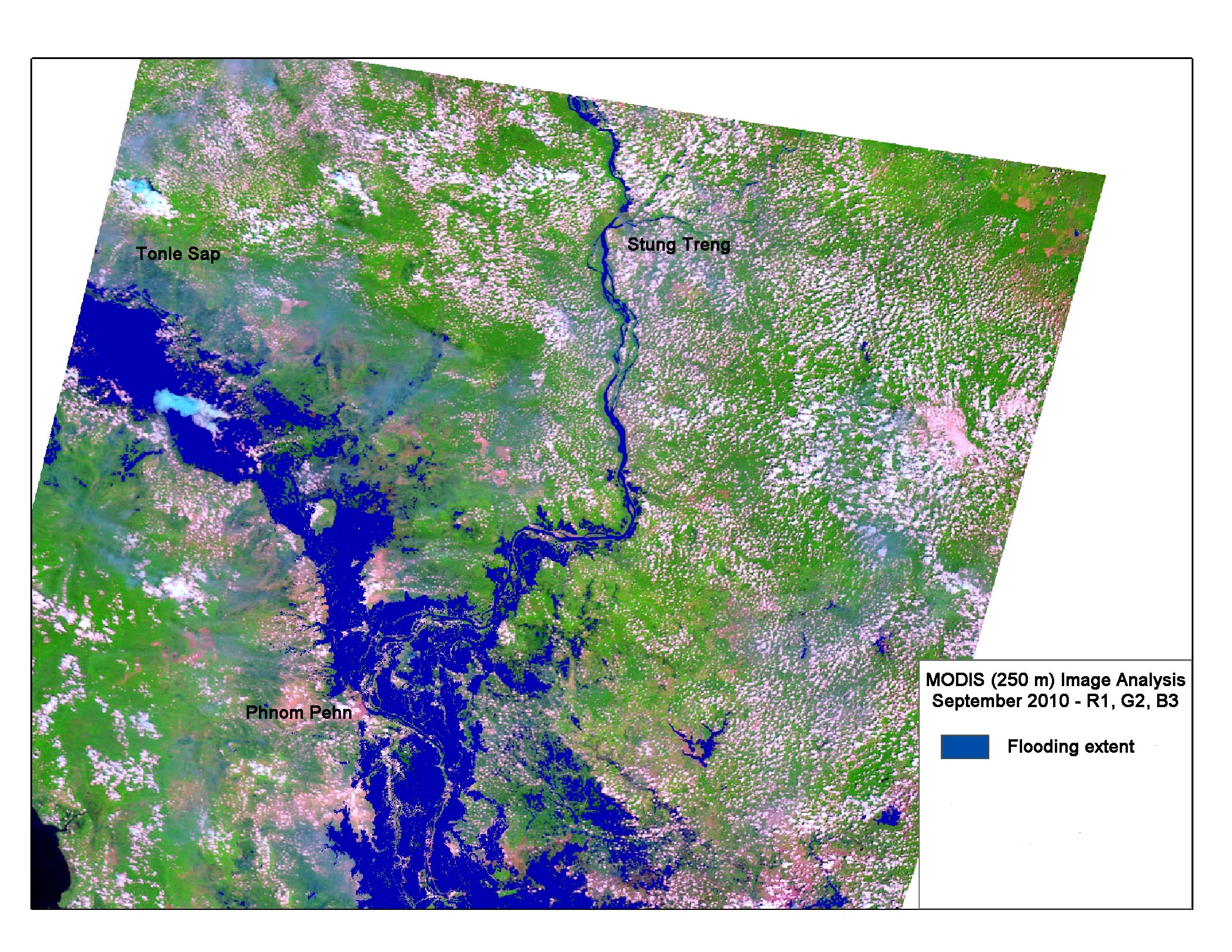 Flood Extent, September 2010